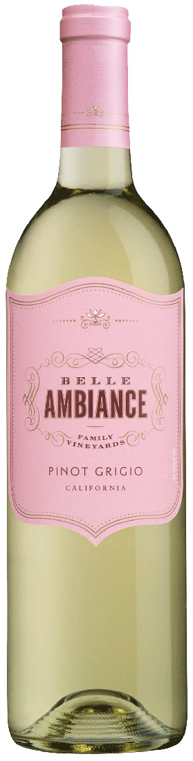 Belle Ambiance Pinot Grigio 750ML