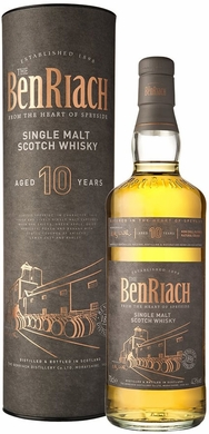 Benriach 10 Year Old Single Malt Scotch