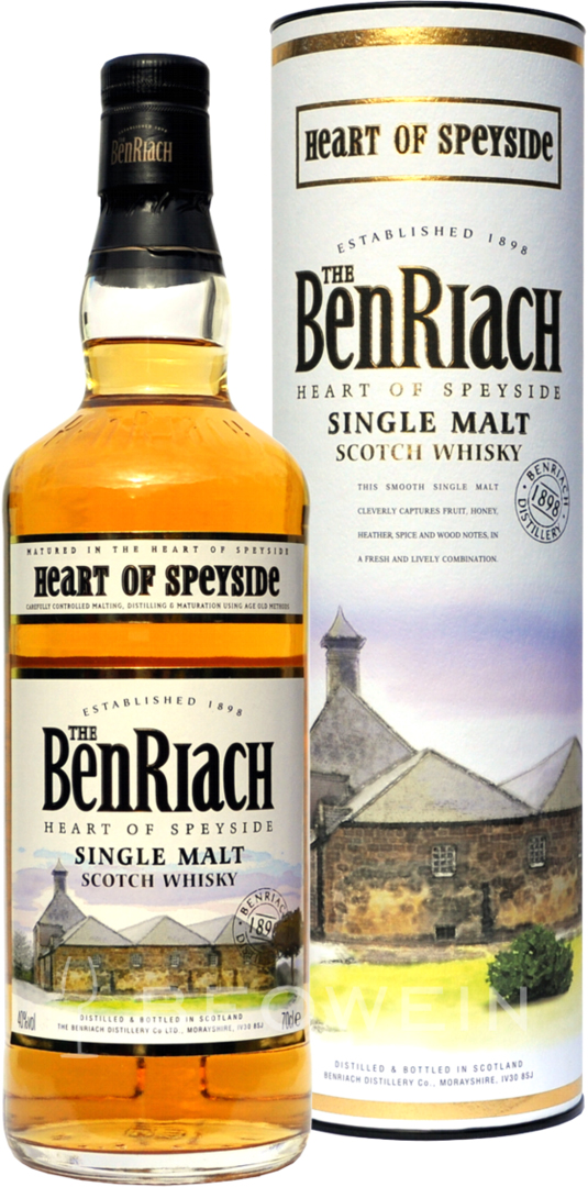Benriach Heart of Speyside Single Malt Scotch