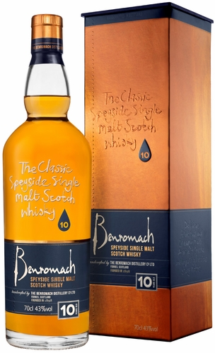 Benromach Speyside 10 Year Old Single Malt Scotch