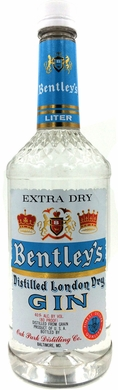 Bentley's London Dry Gin 1L