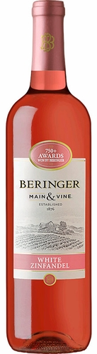 Beringer Main & Vine White Zinfandel 1.5L (Case of 6)
