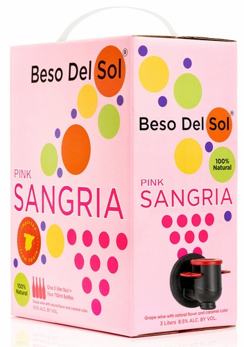 Beso del Sol Pink Sangria 3L (CASE OF 6)
