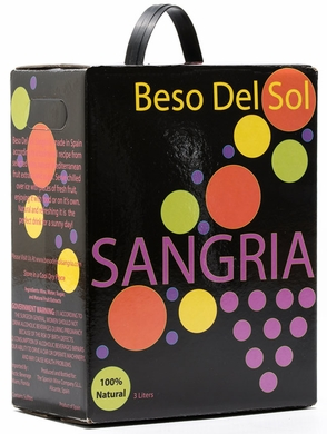 Beso del Sol Red Sangria 3L (CASE OF 6)