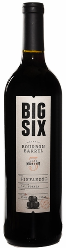Big Six Bourbon Barrel Zinfandel (case of 12)