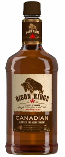 Bison Ridge 3 Year Old Blended Canadian Whisky 1.75L
