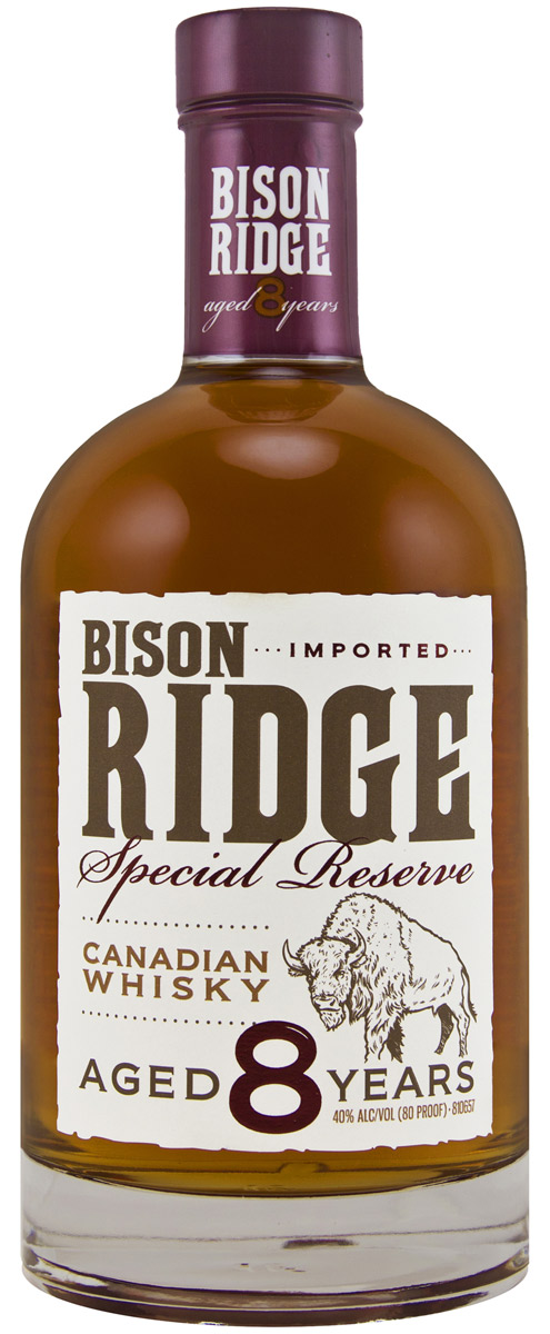Bison Ridge Special Reserve 8 Year Canadian Whisky