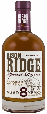 Bison Ridge Special Reserve 8 Year Canadian Whisky 750ML