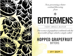 Bittermens Bitters Hopped Grapefruit 5oz