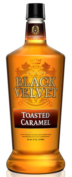 Black Velvet Toasted Caramel Whisky 1.75L