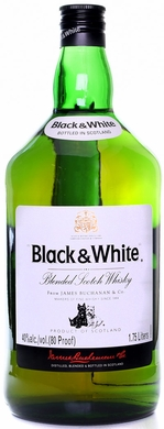 Black & White Blended Scotch 1.75L