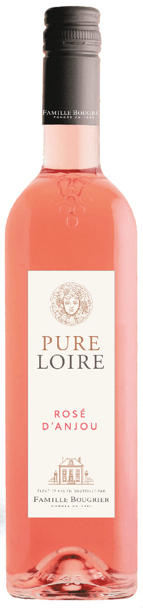 Bougrier Pure Loire Rose dAnjou 750ML (case of 12)