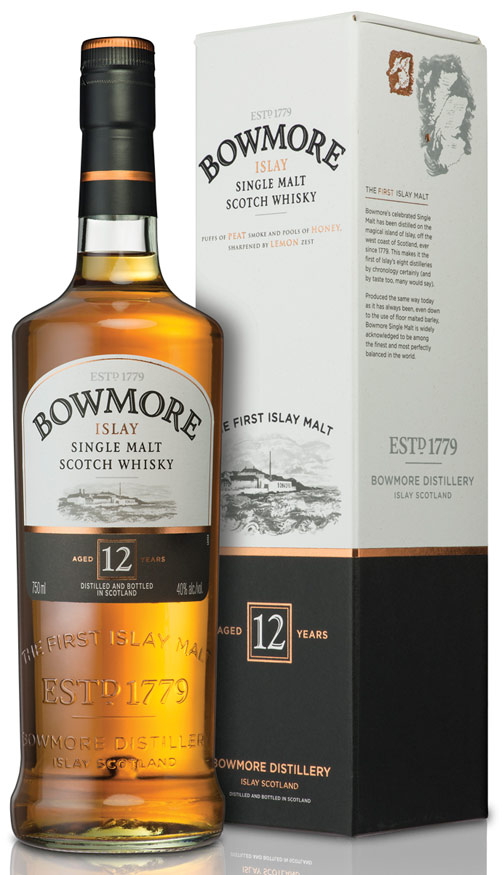 Bowmore Islay 12 Year Old Single Malt Scotch