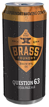 Brass Foundry Question 63 IPA