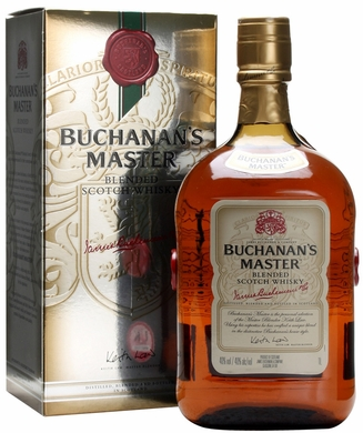Buchanans Master Blended Scotch 750ML