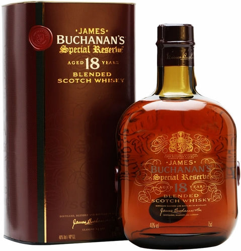 Buchanans Special Reserve 18 Year Blended Scotch