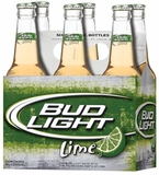 Bud Light Lime 6pk Btls