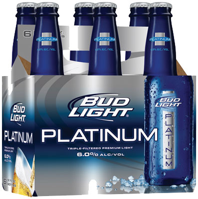 Bud Light Platinum 6PK
