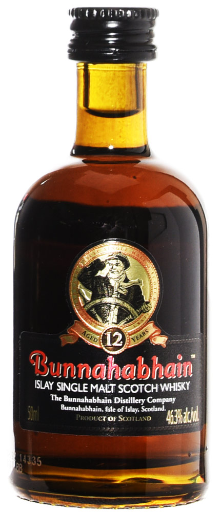 Bunnahabhain 12 Year Old Single Malt 50ML