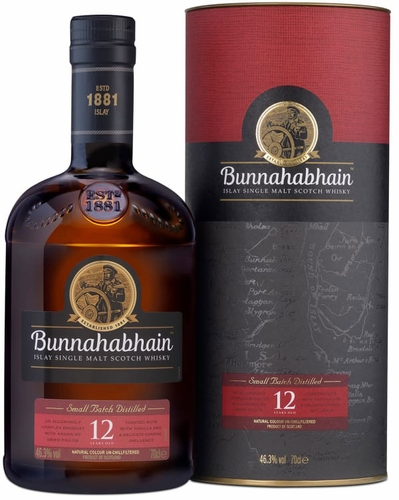 Bunnahabhain 12 Year Old Single Malt Scotch