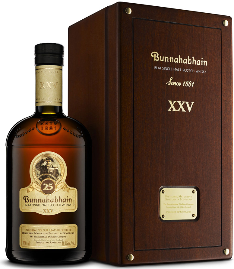 Bunnahabhain 25 Year Old Single Malt Scotch 750ML