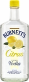 Burnett's Citrus Vodka 1L (case of 12)
