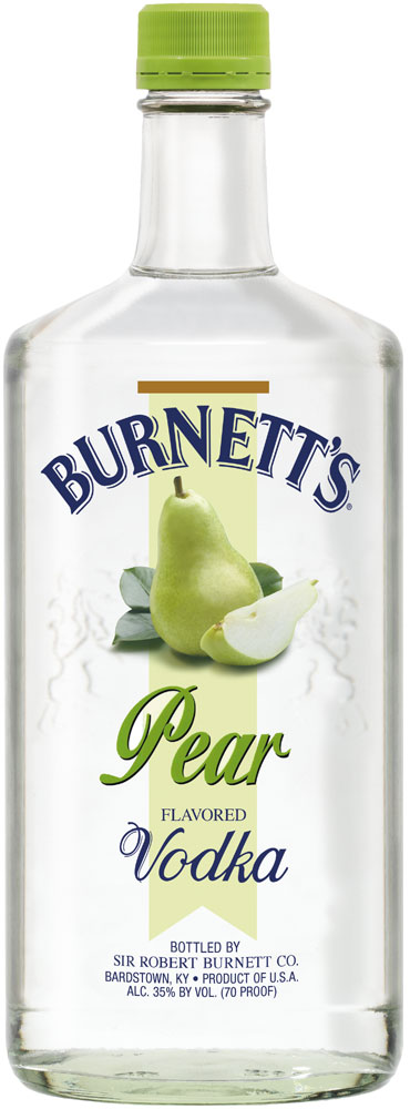 Burnetts Pear Vodka 1L