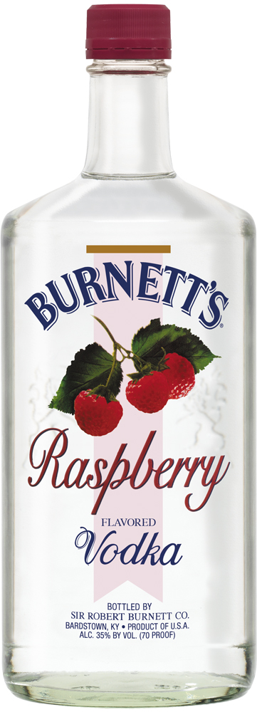 Burnetts Raspberry Vodka 1L