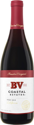 BV Coastal Estates Pinot Noir 750ML