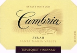 Cambria Tepusquet Vineyard Syrah 2013
