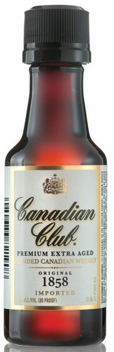 Canadian Club Canadian Whisky 50ML