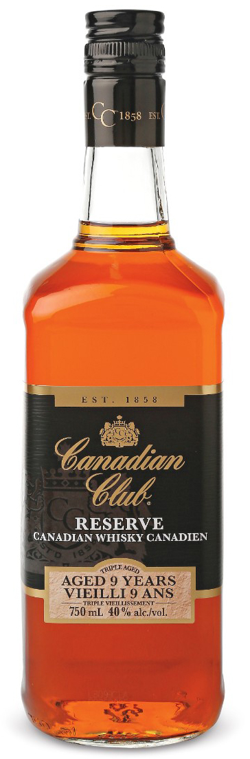 Canadian Club Reserve 9 Year Old Whisky