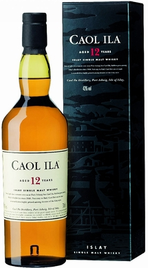 Caol Ila 12 Year Old Single Malt Scotch