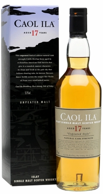 Caol Ila 17 Year Old Unpeated Single Malt Whisky