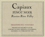 Capiaux Freestone Hill Vineyard Pinot Noir 2009