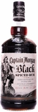 Captain Morgan Black Spiced Rum 1.75L (case of 6)