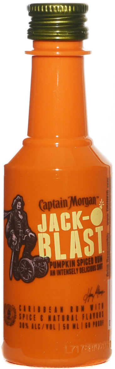 Captain Morgan Jack-Oblast Pumpkin Spiced Rum 50ML