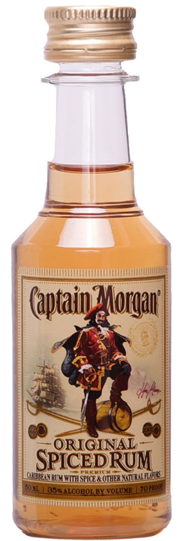 Captain Morgan Spiced Rum 50ml Buy Captain Morgan Minis