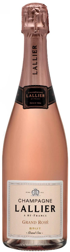 Champagne Lallier Grand Rose 750ML (case of 6)