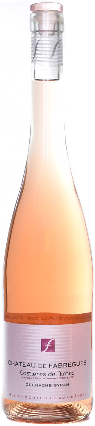 Chateau de Fabregues Costieres de Nimes Rose 750ML