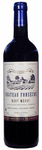 Chateau Fonseche Haut Medoc 750ML (case of 12)