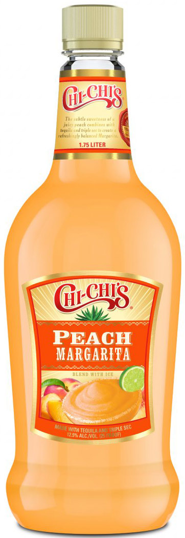 Chi-Chis Peach Margarita Cocktail 1.75L