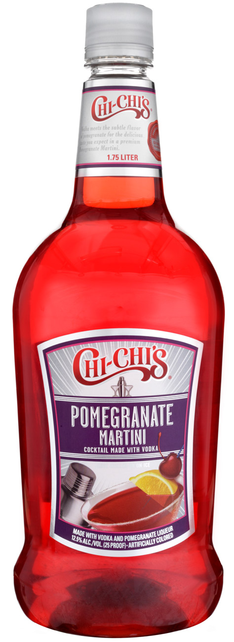 Chi-Chi's Pomegranate Martini Cocktail 1.75L