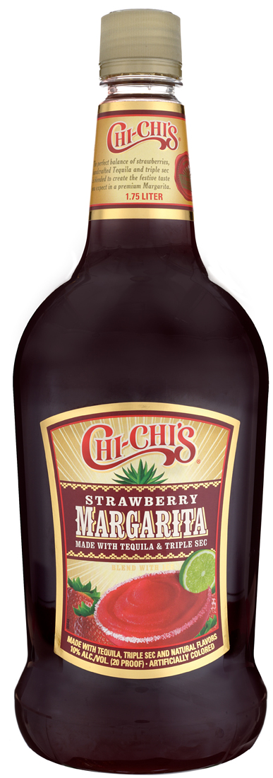 Chi-Chis Strawberry Margarita Cocktail 1.75L