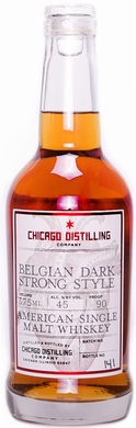 Chicago Distilling Belgian Dark Strong Style American Single Malt Whisky