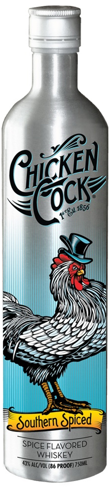 Chicken Cock Southern Spiced Whisky 750ML