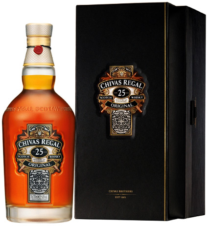 Chivas Regal 25 Year Old Blended Whisky