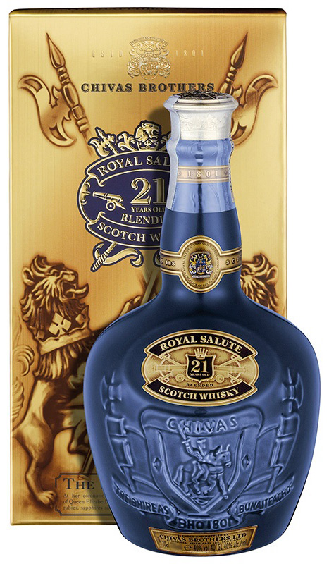 Chivas Royal Salute 21 Year Blended Scotch 750ML