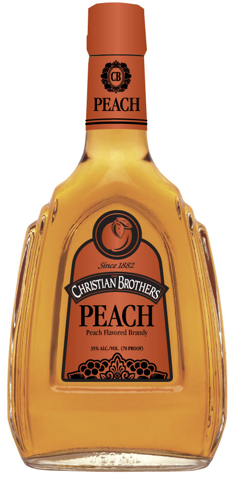 Christian Brothers Peach Flavored Brandy