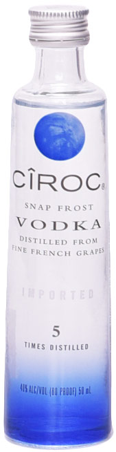 Ciroc Vodka (unflavored) 50ml
